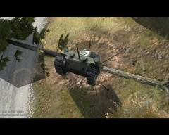Katapulta do przerzucania czołgów poza mury ma jedną wadę....