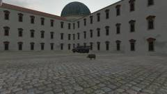 MSO, dziedziniec pałacu w Celle...