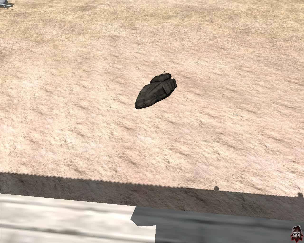 spadochron postanowił sam polatać