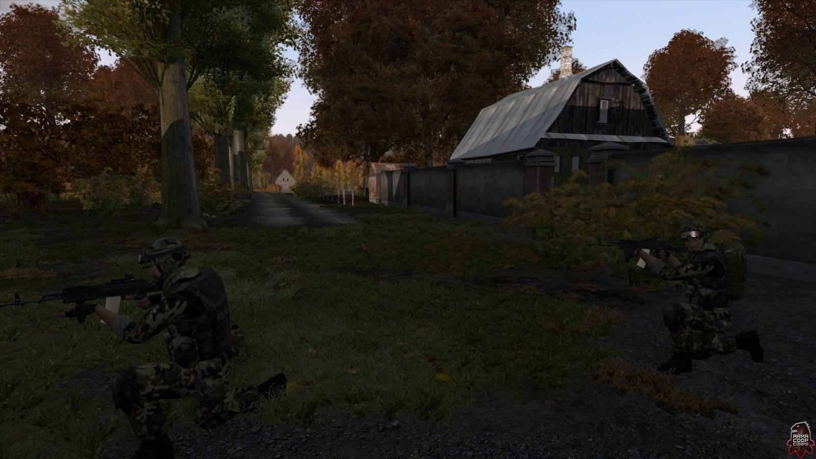 Zajęcie stodoły
