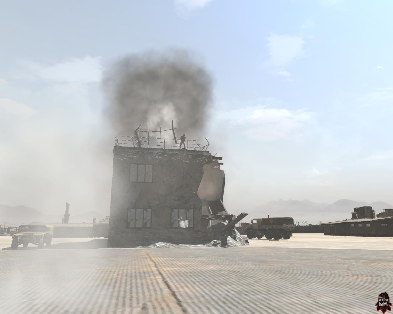 granat dymny...