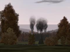 Płonący Novy Sobor