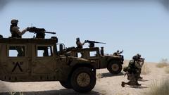 Hummve eliminują cele w bazie