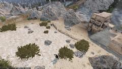 Pozycja Delty, gdzie prawie został zabity Stalker.