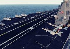 Lotniskowiec i Hornety 2