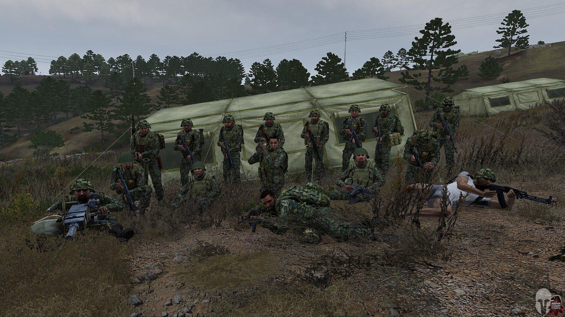 Screeny z misji