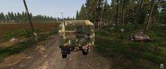 Checkpoint by Pba ciężarówka, która przejechała